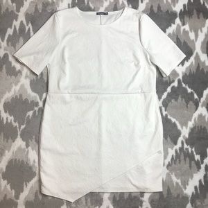 BooHoo White Floral Dress Size 22